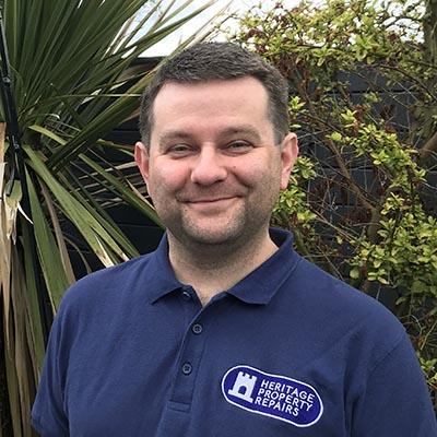 Photograph of Gavin Fletcher's head and shoulders