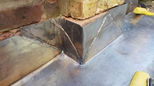lead weld detail
